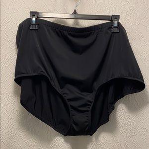 24w Black Swim Bottom NWT
